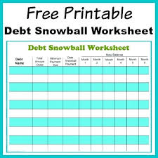 Pay Down Debt Spreadsheet Budget Worksheet Easy On Payoff Debt
