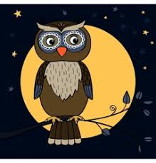 <b>Moon Owl</b> Branch Vector Images (over 340)
