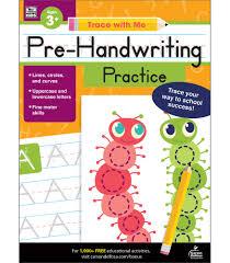 Carson Dellosa Pre Handwriting Practice Activity Book For