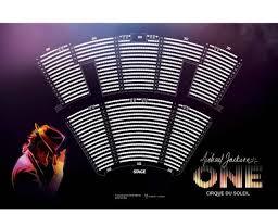 Michael Jackson Cirque Vegas Seating Chart Michael Jackson One Seating Image Cirque Du Soleil