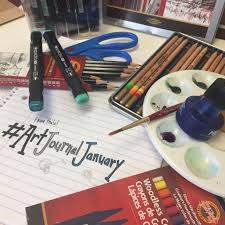 Art Journaling 101: Getting the most out of thalo's #ArtJournalJanuary