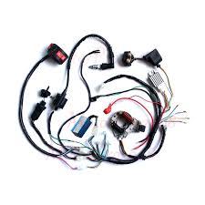 complete electrics atv wiring harness quad wire loom 50 70 90 complete electrics atv wiring harness quad wire loom 50 70 90 110cc 125cc stator