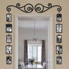 decorations personalised family photo frame wall sticker design ideas hanging scroll picture frame set could