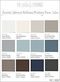 favorite pottery barn paint colors from sherwin williams paint it monday the creativity exchange