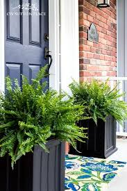The Easiest Porch Planters Ever | Super simple and fast containers for your  porch. In