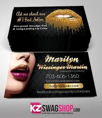 Senegence Business Cards Style 5 Kz Swag Shop