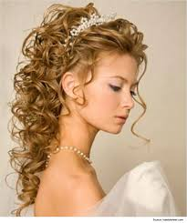hairstyles for strapless dresses partial updo hair style