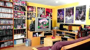 video game room furniture. Video Game Room Ideas For Small Rooms Gaming Furniture Combination Tables Bedroom Decor .