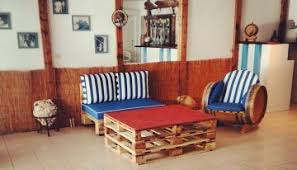 pallet office. Pallets Creations At Office Reception Pallet Office