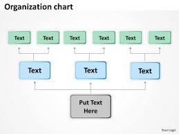 Strategic Management Organization Chart Colorful Business