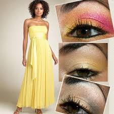 yellow is important color in summers which gives the sign of freshness in hot summer many of us are lovingly wear elegant yellow dress