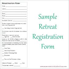 Printable Conference Registration Form Template Orea Open House ...
