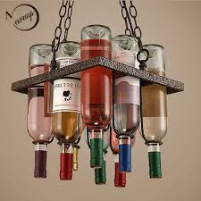 Wine Bottle Light Fixture E27 Base Light Bulb Picture More Detailed Picture About Recycled