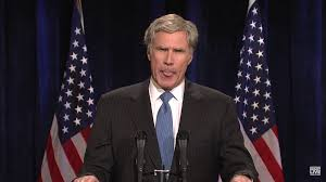 ... night and reprised the greatest presidential impersonation of all time   seriously, politics aside if you don't like Ferrell as W. you're a  humorless ...