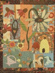 garden quilt. Quilt Academy Mama Garden