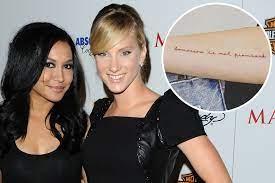Heather Morris honors 'Glee' co-star ...
