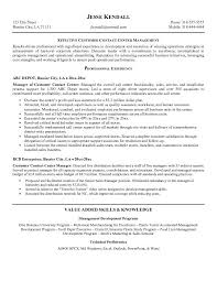 Resume Center Custom Call Center R Call Center Resume Examples On Professional Resume