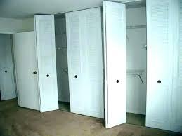narrow closet doors s s narrow french closet doors