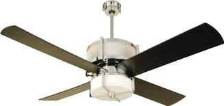 craftmade ceiling fan light kit soul speak designs craftmade mo56ch midoro 56 inch ceiling fan chrome motor black blades and integrated light