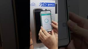 It is a demo video with CLAVIS digital doorlock connect to an iphone ...