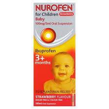 image 1 of nurofen for children and baby liquid 100ml
