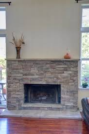 dry stack stone fireplace 10