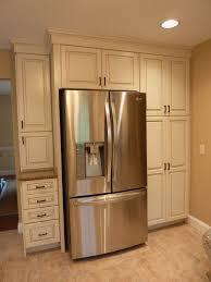 Kitchenikea Sektion Cabinets Refrigerator Side Panels Wood Fridge