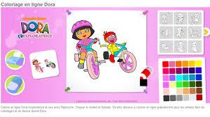 Jeu Coloriage Dora En Ligne L L L