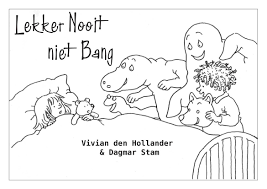 De Leukste Kinderboeken Lekker Nooit Niet Bang Kleurplaat