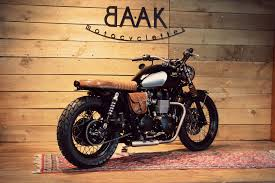 radical transformation of franck s triumph bonneville by baak