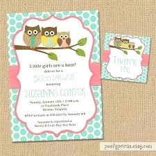 Do It Yourself Baby Shower Invitation Templates Diy Owl Invitation Template Metabots Co