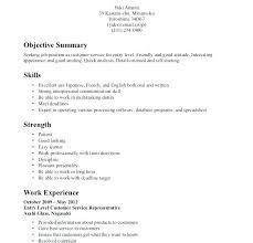Entry Level Customer Service Resume Objective Resume Customer ...