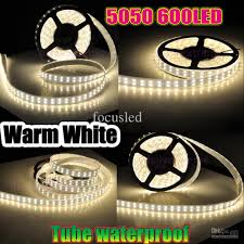 8400 lumens 600 leds 5m 5050 double row led strips light waterproof warm pure cool white 120leds m 144w 5m dc 12v best for light outdoor led