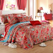 queen paisley comforter sets red party bohemian style fashion and luxury exotic tribal set tommy hilfiger mission full