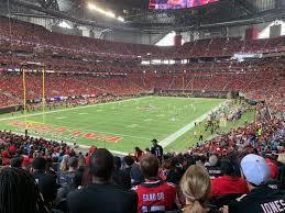Atlanta Falcons Seating Chart Mercedes Benz Mercedes Benz Stadium Seating Chart Views And Reviews