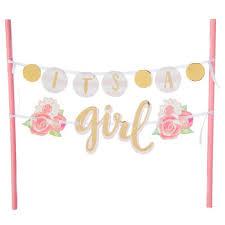 Its A Girl Cake Banner Hobby Lobby 1544808