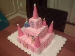 10 Homemade Princess Birthday Cakes Photo Homemade Princess Castle