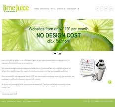 Lime Website Design Lime Juice Web Design Competitors Revenue And Employees