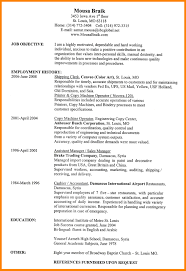 10 Word Formatted Resume Job Apply Form