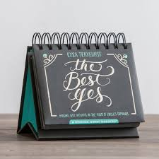 lysa terkeurst the best yes 365 day perpetual calendar