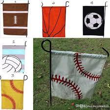 2019 new baseball garden flag sports flags easter ball flag canvas garden outdoor decorative garden flag baseball soccer softball dhlship hh7 934 from