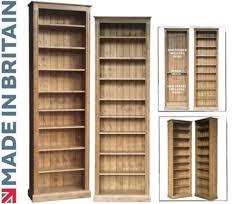 solid pine bookcase 8ft tall x 30 adjule display shelving unit bookshelf light oak wax