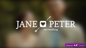 Wedding Title Template Videohive Wedding Titles Free After Effects Templates