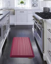 cushioned kitchen floor mats regarding lovely red rugs and rugskitchen in impressive for kitchens small anti fatigue canada bath beyond rug pad mat chef gel