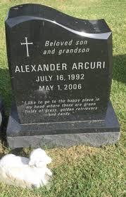 Alexander Arcuri (1992-2006) - Find A Grave Memorial