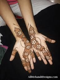 Henna Patterns On Hands