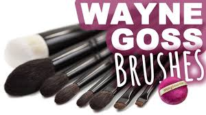 wayne goss makeup brushes first impressions video magimania beauty