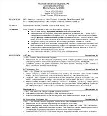 Electrical Engineering Resume Samples Electrical Engineering Resume Sample Electrical Engineering Resume