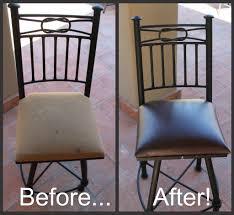 diy chair cushion reupholstering big bang for a little buck