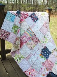 57 best Patchwork Quilts - Rag Quilt images on Pinterest | Baskets ... & Memory Quilt, Twin Size, Rag, Made with your Clothing, Tshirt Quilt,  Clothing Quilt, for babies to adults Adamdwight.com